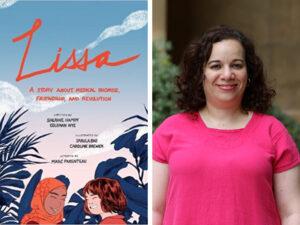 Lissa book cover and headshot of Sherine Hamdy
